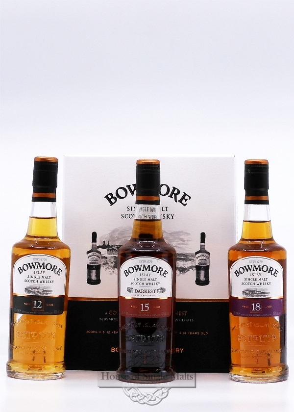 Bowmore Tasterpack (3x 20cl)