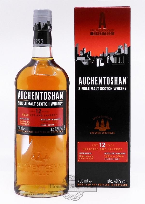Auchentoshan 12 Years (neue Aufmachung!)