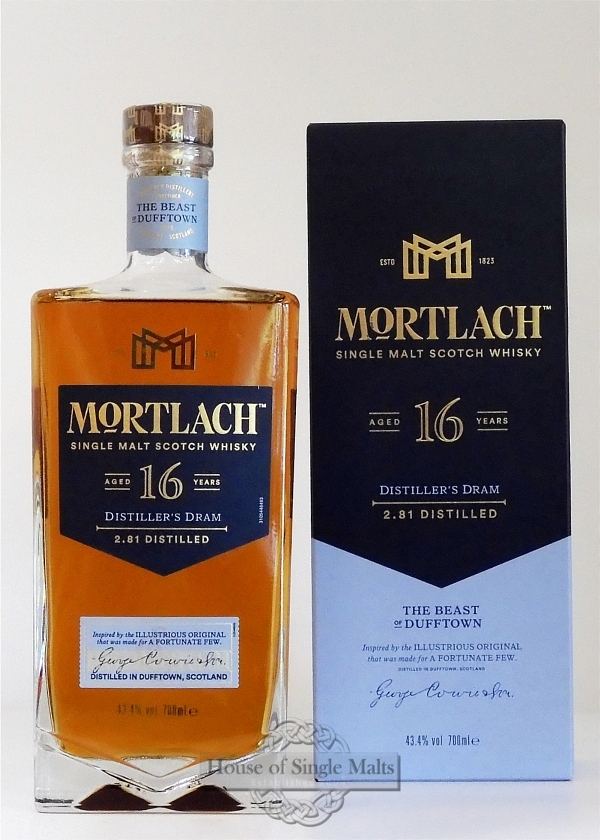 Mortlach 16 Years - Distiller's Dram