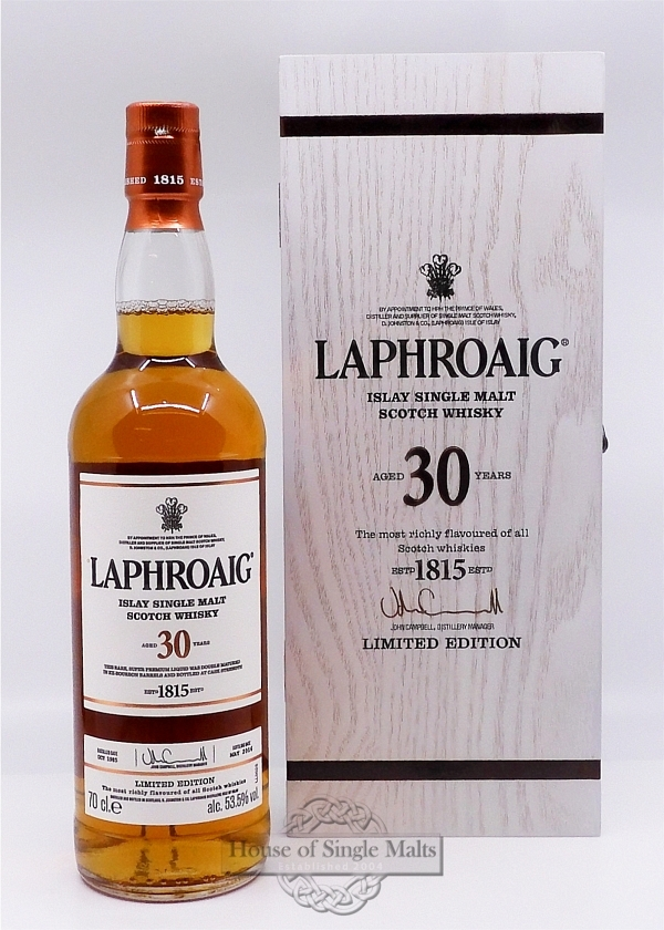 Laphroaig 30 Years